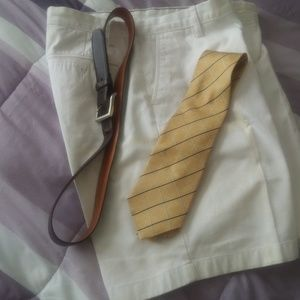 Nautica Shorts $38 size 34x9+ belt &Nautical tie